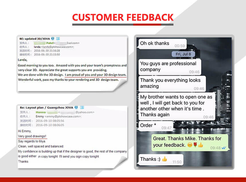 jewelry furniture customer feedback