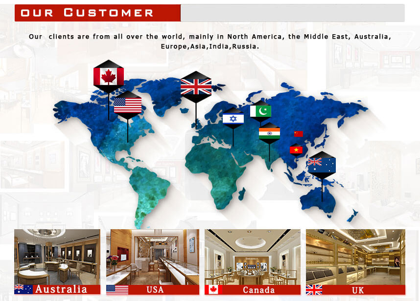 jewelry shop design usa