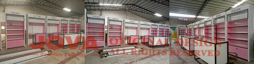 cosmetic display stand china