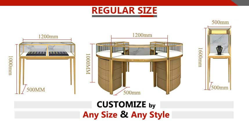 jewellery display table wholesale