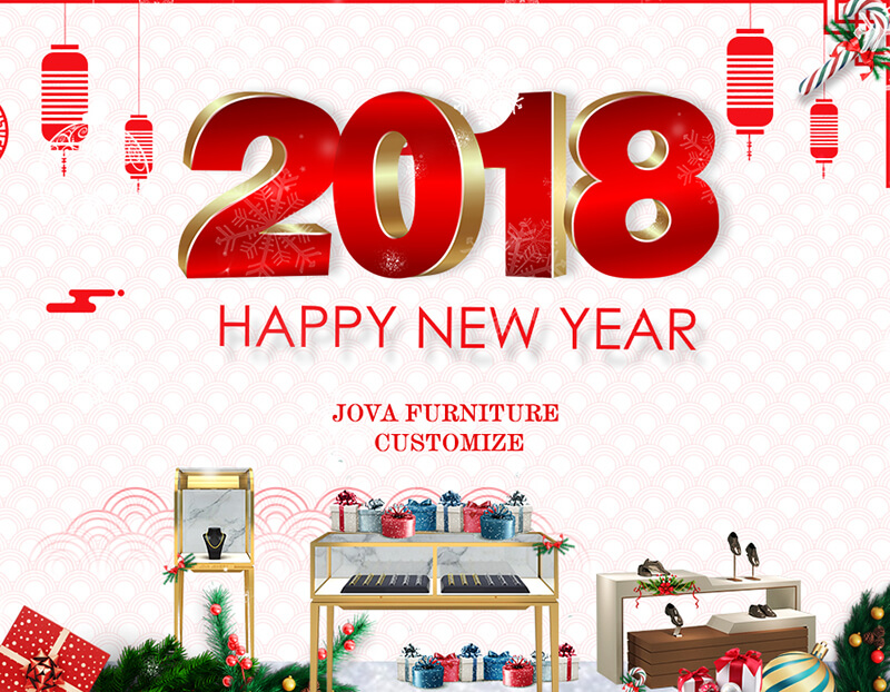 cosmetic display stand manufacturers wish you happy new year