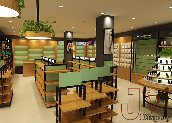 cosmetic shop interior design