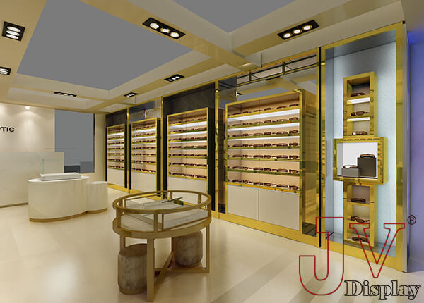 optical shop interior design plan
