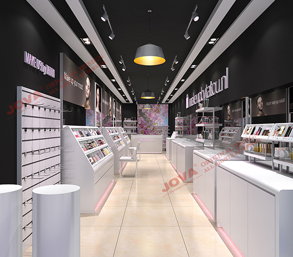 cosmetic retail shop design Holland