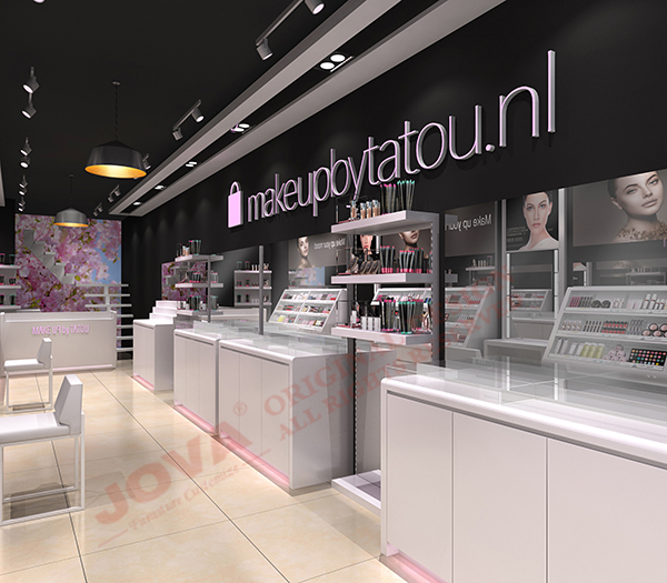 retail cosmetic shop design Holland