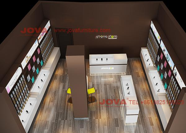 Italy phone shop design