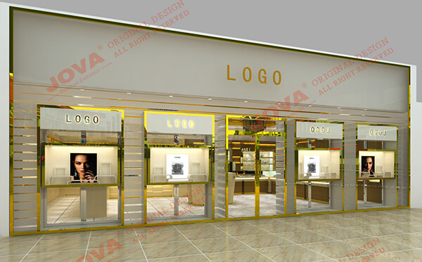 High Quality Gold Jewellery Showroom Furniture Saudi Arabia