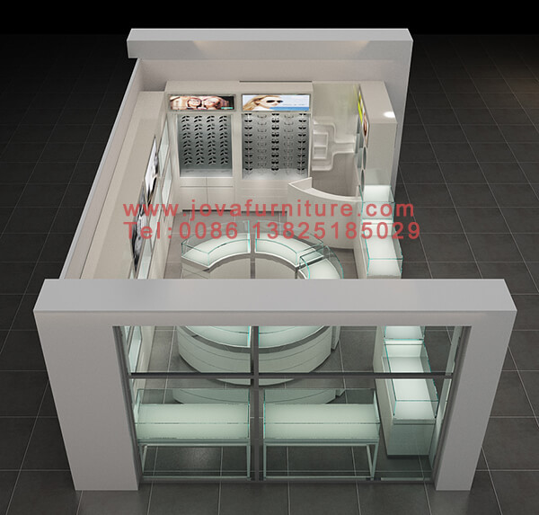 Small optical store design Africa