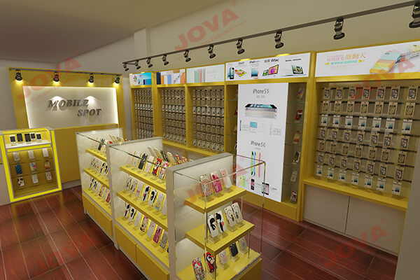 new mobile accessories shop design
