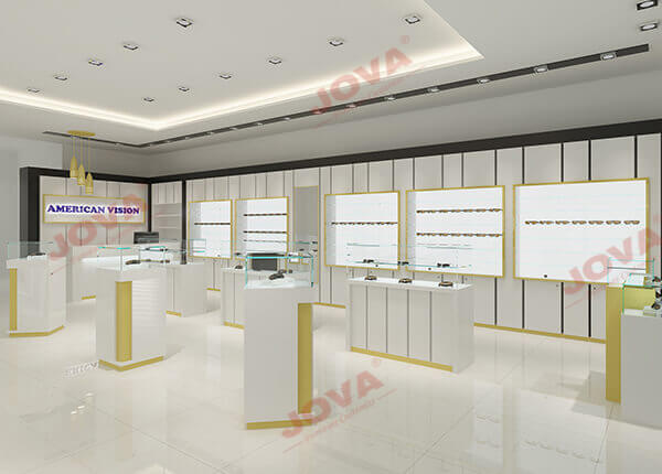 optical shop design layout