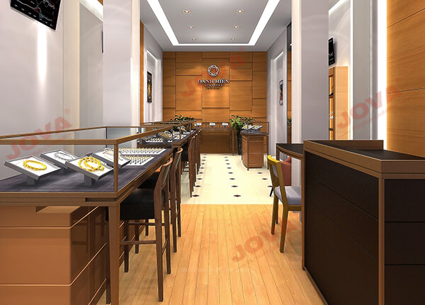 latest jewellery shop interior design