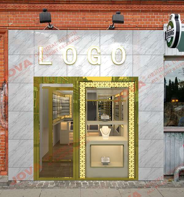 front design for jewellery shop