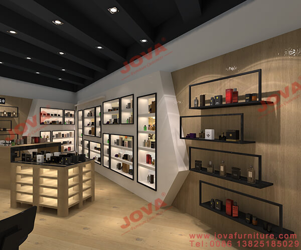 Perfume Shop Design Interior Decoration And Fixtures For