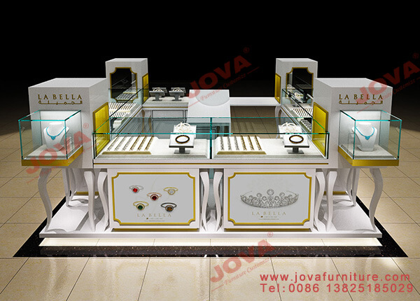 jewellery display kiosk