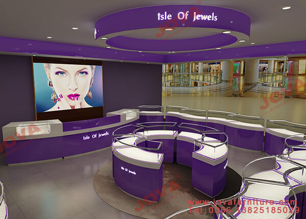 jewellery display shop fittings