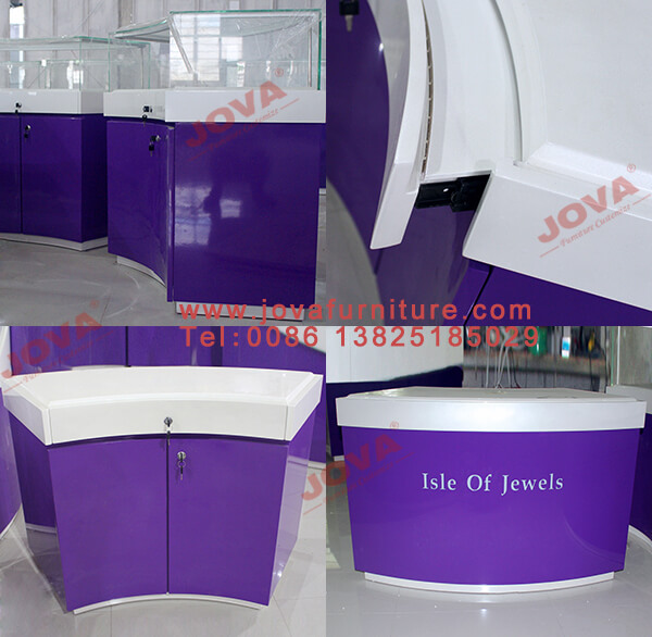 jewellery shop counters
