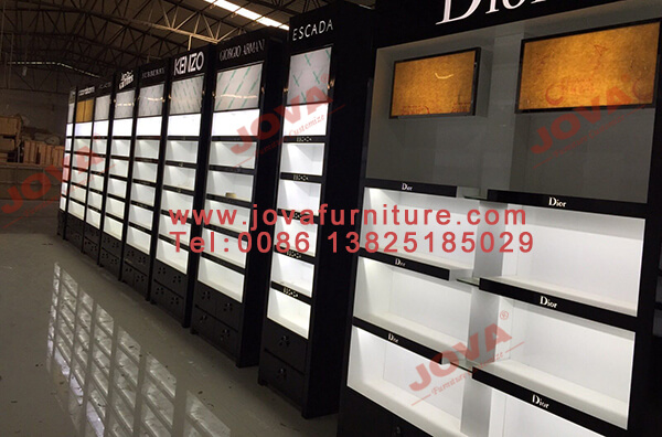 perfume shop display manufacturers