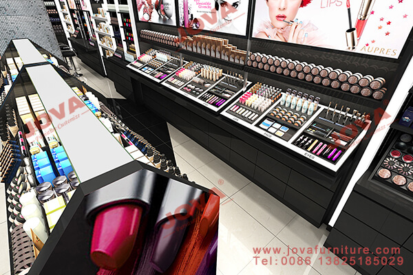 high end cosmetic shop display