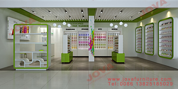 mobile shop interior design ideas