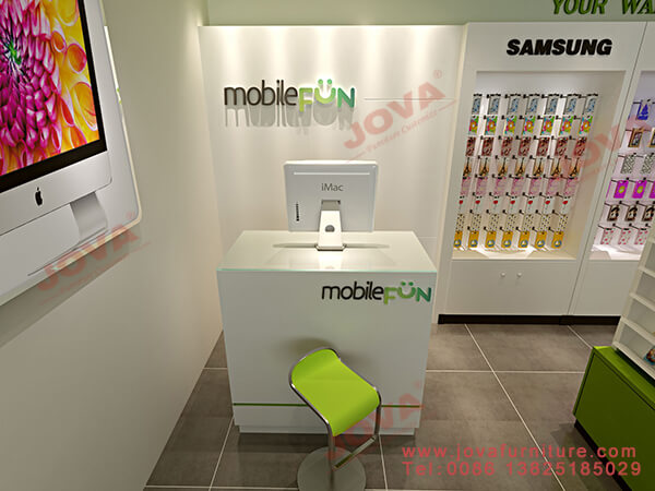 phone shop counter