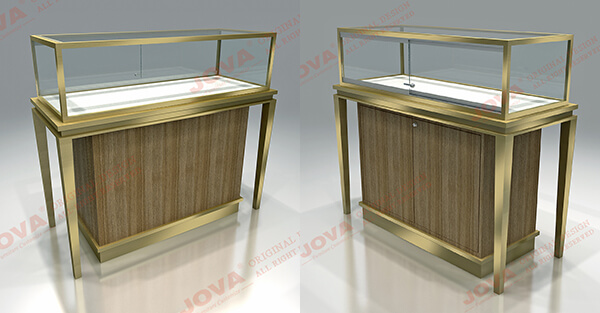 jewellery glass display cabinets
