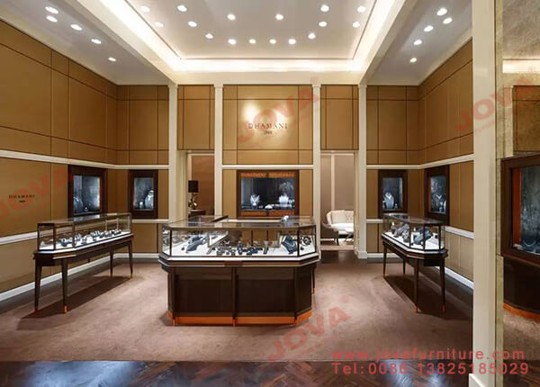 latest jewellery showroom interior