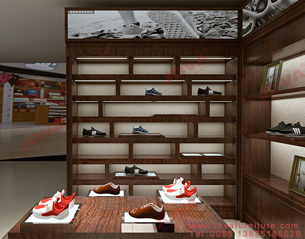 shoe display cabinet for shop