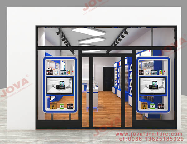cell phone store front design