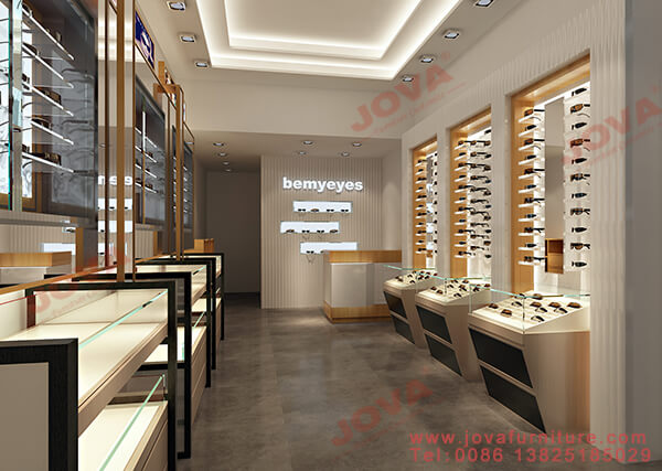 optical store layout design