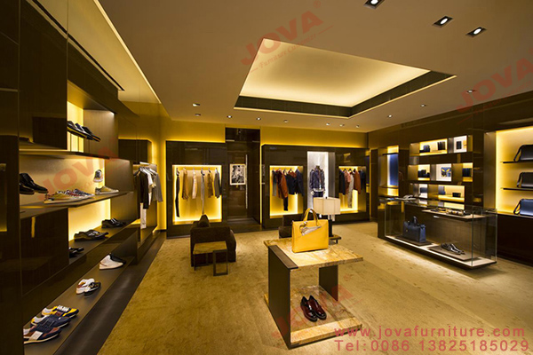 FENDI men shop design