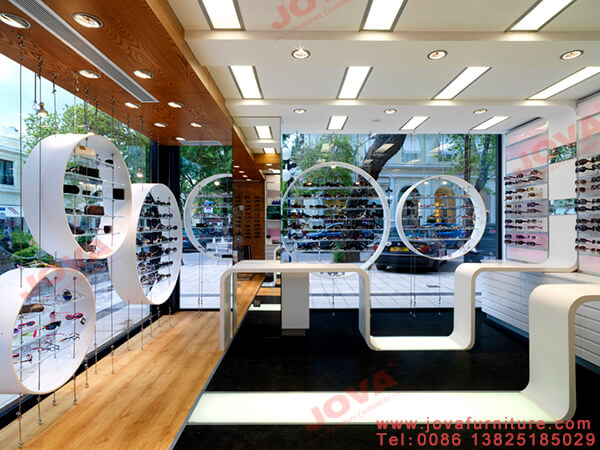 interior design ideas for optical shop