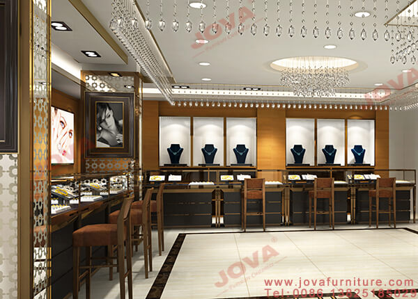 jewellery showroom interior design india