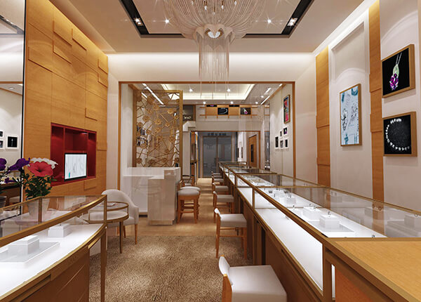 jewelry store design usa
