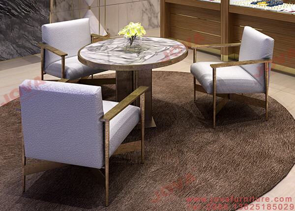 jewelry store reception furniture
