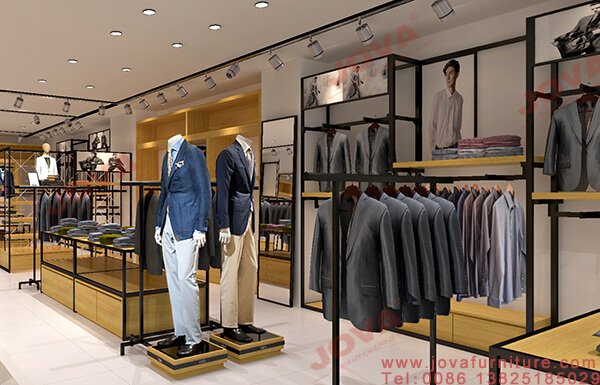 retail store fixtures for men