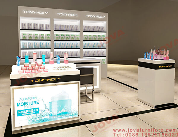 cosmetic display table