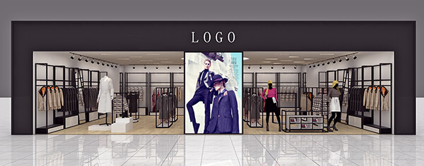 lady clothing store design