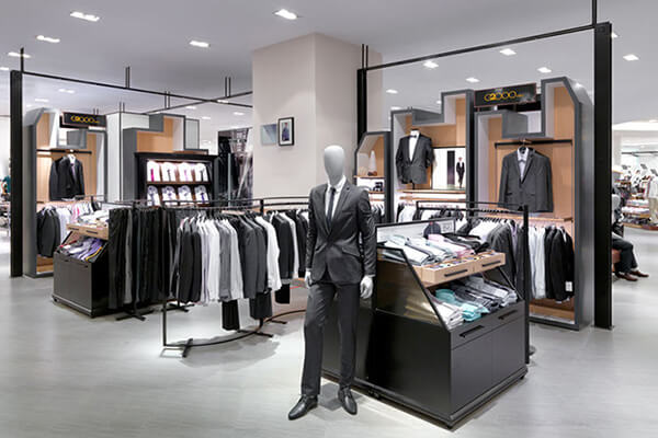 retail clothing fixtures