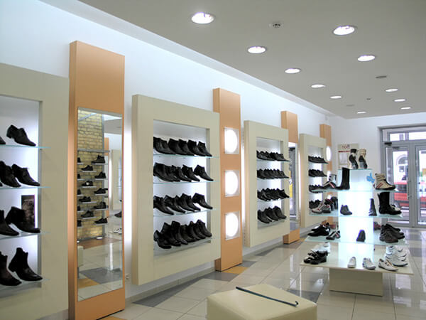 footwear display systems