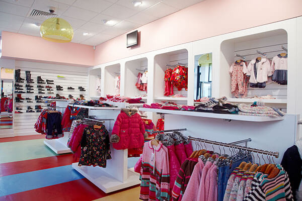 baby shop interior design