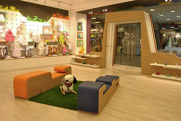 baby boutique store displays