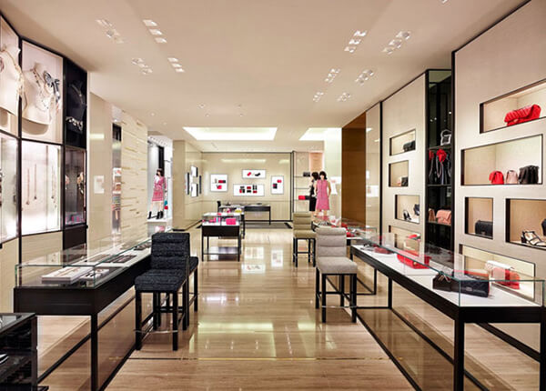 bag shop interior design ideas