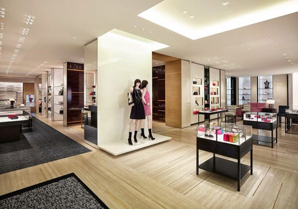 bag shop interior design