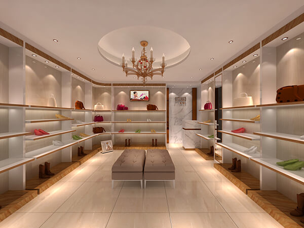 shoes showroom interior design