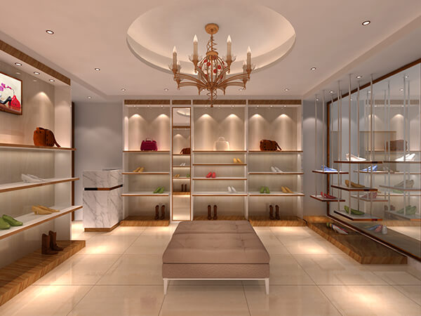 shoe showroom design ideas
