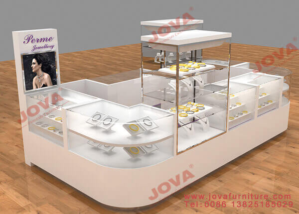Multilayer jewelry counter design