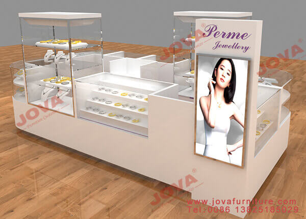 jewelry counter for kiosk design