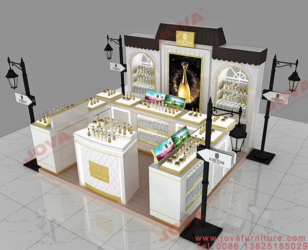 Perfume Display Ideas For Kiosk Shop Design For Sale