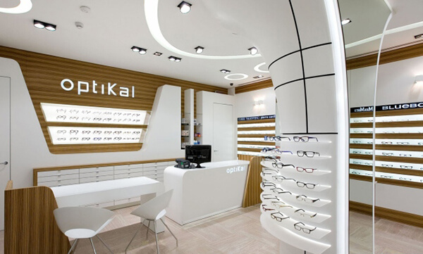 optical store decoraiton
