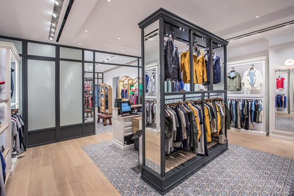 fashion store design ideas